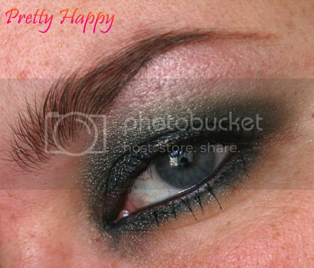 Smoky eye probeersel