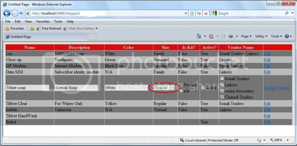 Show hide enable disable controls in gridview edit mode