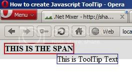 Javascript Tooltip